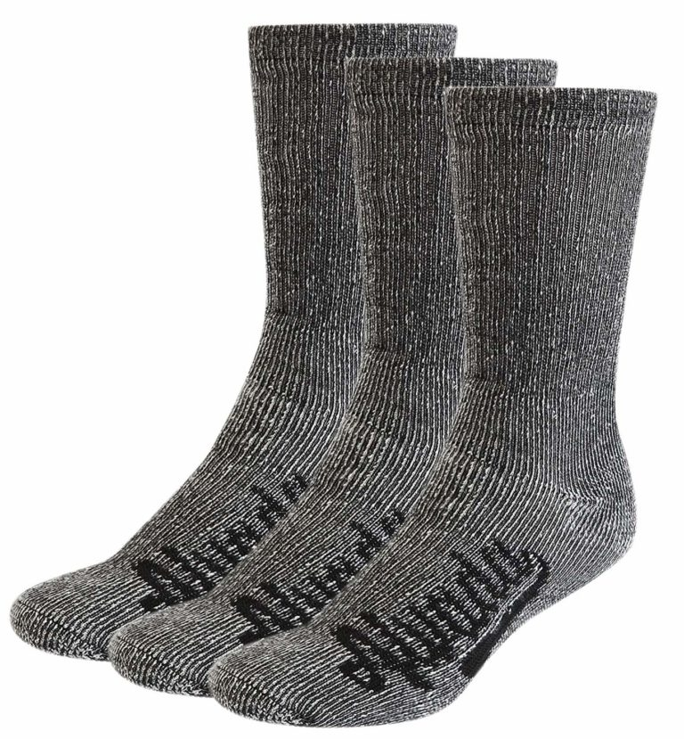 AIvada 80% Merino Wool Hiking Socks Thermal Warm Crew Winter Socks